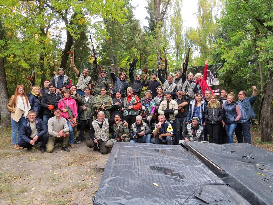 Корпоратив для сотрудников в лазертаге Днепропетровск