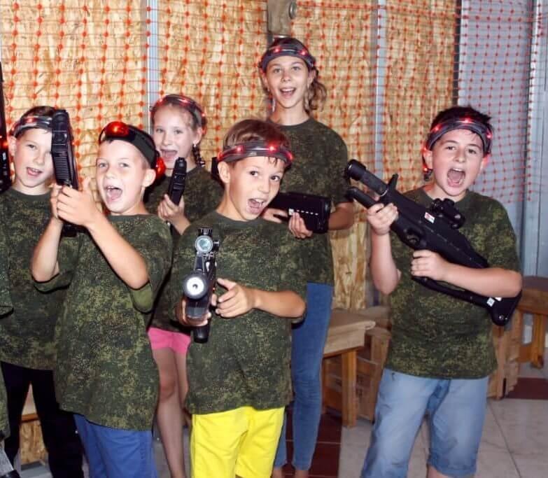 Отметить детский день рождения 11 лет в лазертаге Днепр